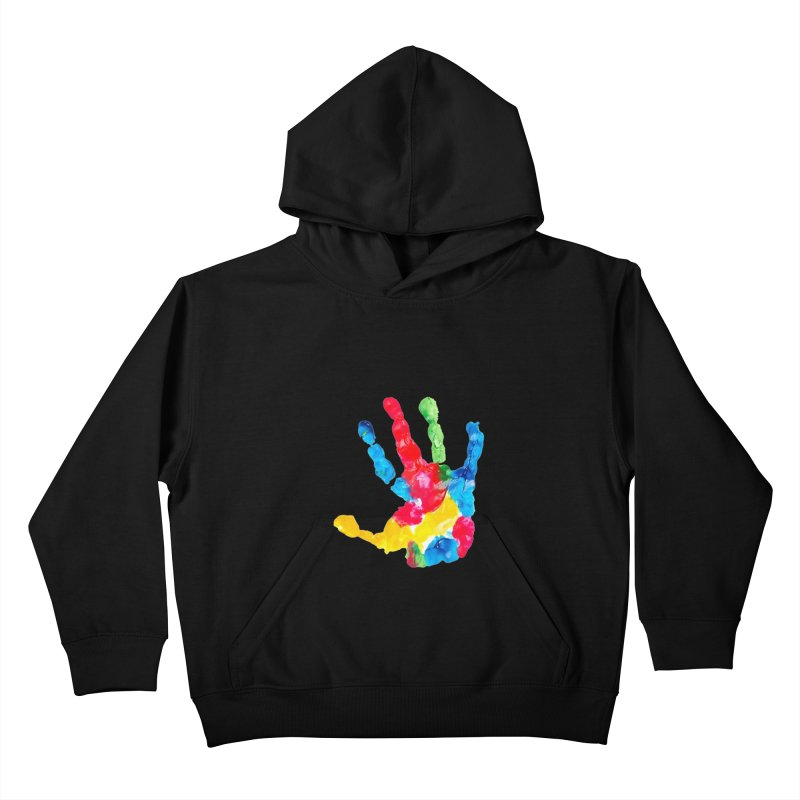 Hand Paint Kids Pullover Hoody by Coachella Valley Autism Society of America