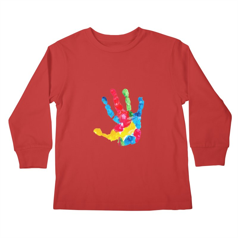 Hand Paint Kids Longsleeve T-Shirt by Coachella Valley Autism Society of America