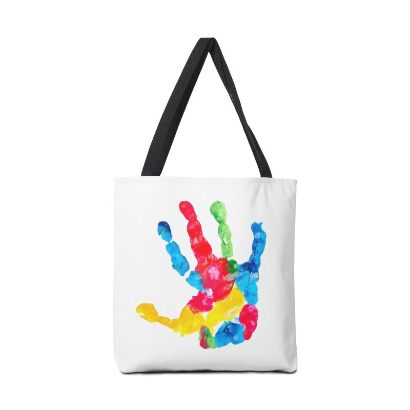 Hand Paint Accessories Bag by Coachella Valley Autism Society of America
