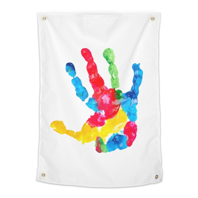 Hand Paint Home Tapestry by Coachella Valley Autism Society of America