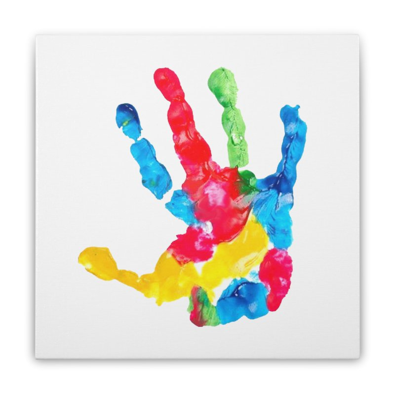 Hand Paint Home Stretched Canvas by Coachella Valley Autism Society of America