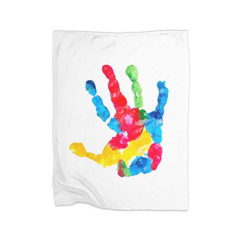 Hand Paint Home Blanket by Coachella Valley Autism Society of America