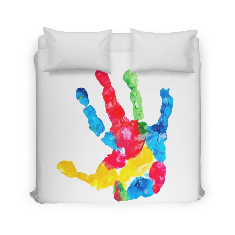 Hand Paint Home Duvet by Coachella Valley Autism Society of America