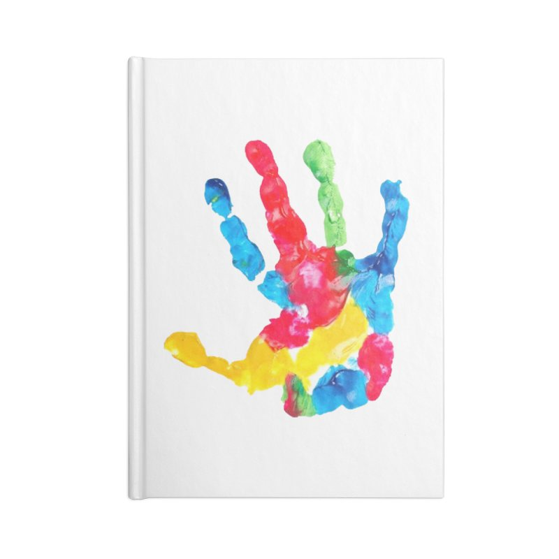 Hand Paint Accessories Lined Journal Notebook by Coachella Valley Autism Society of America