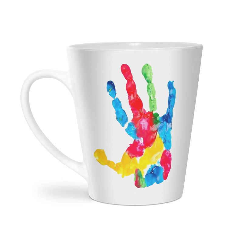 Hand Paint Accessories Latte Mug by Coachella Valley Autism Society of America