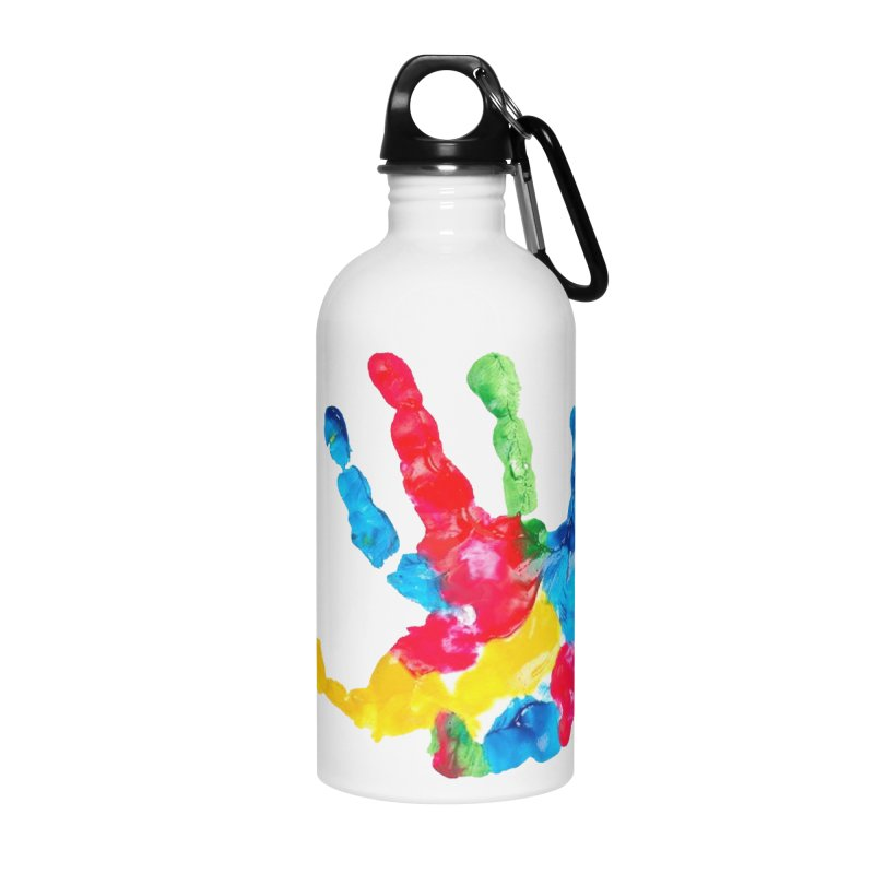 Hand Paint Accessories Water Bottle by Coachella Valley Autism Society of America
