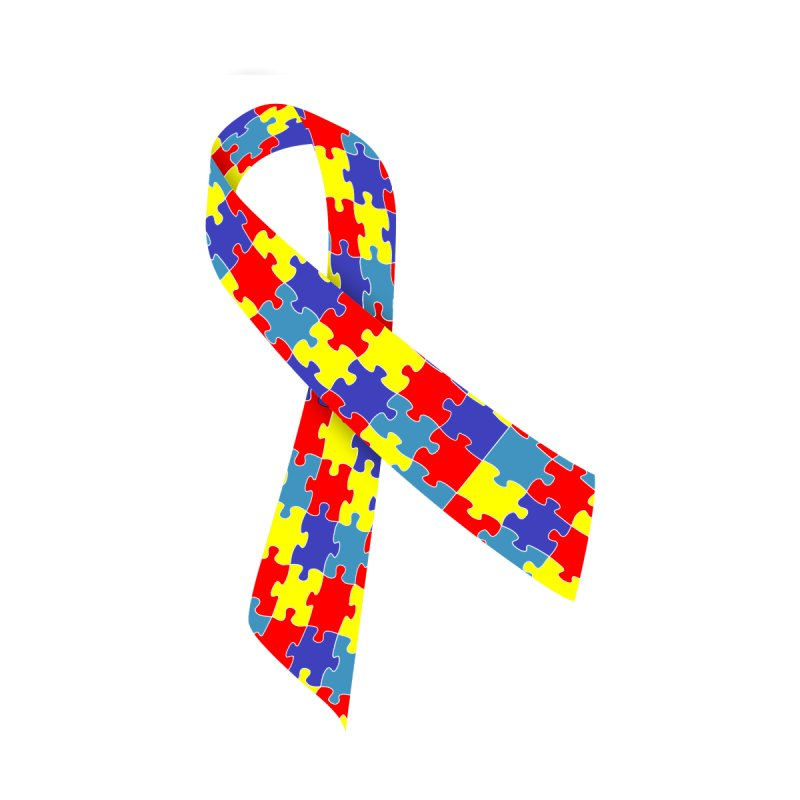 Ribbon   by Coachella Valley Autism Society of America
