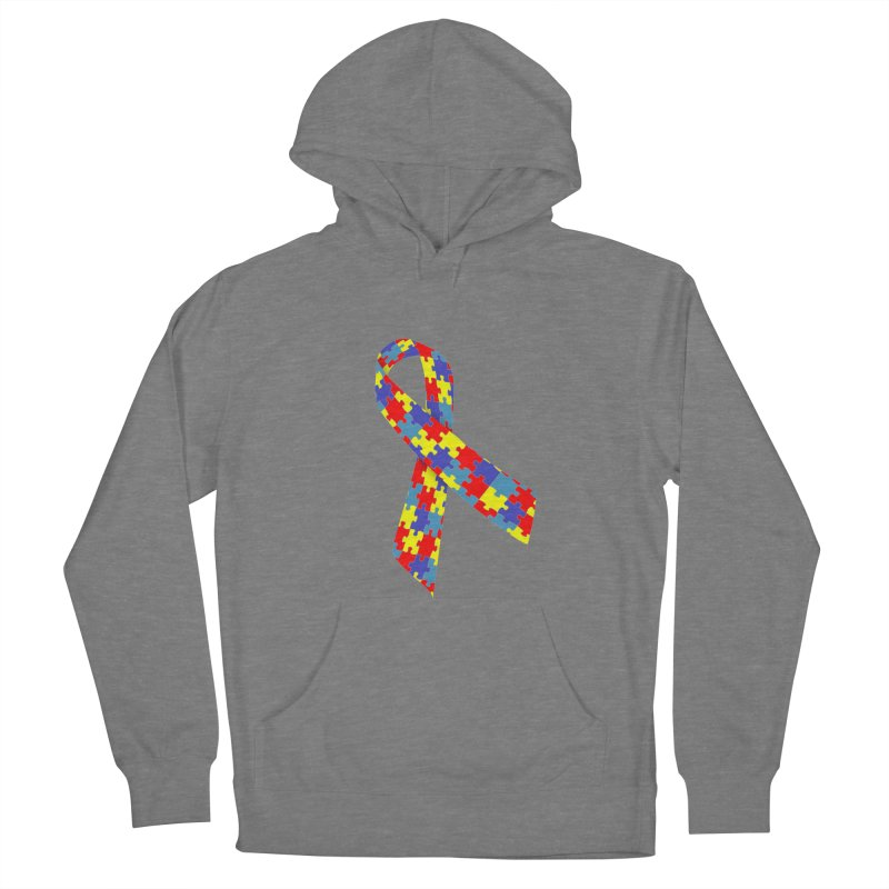 Ribbon Women's Pullover Hoody by Coachella Valley Autism Society of America