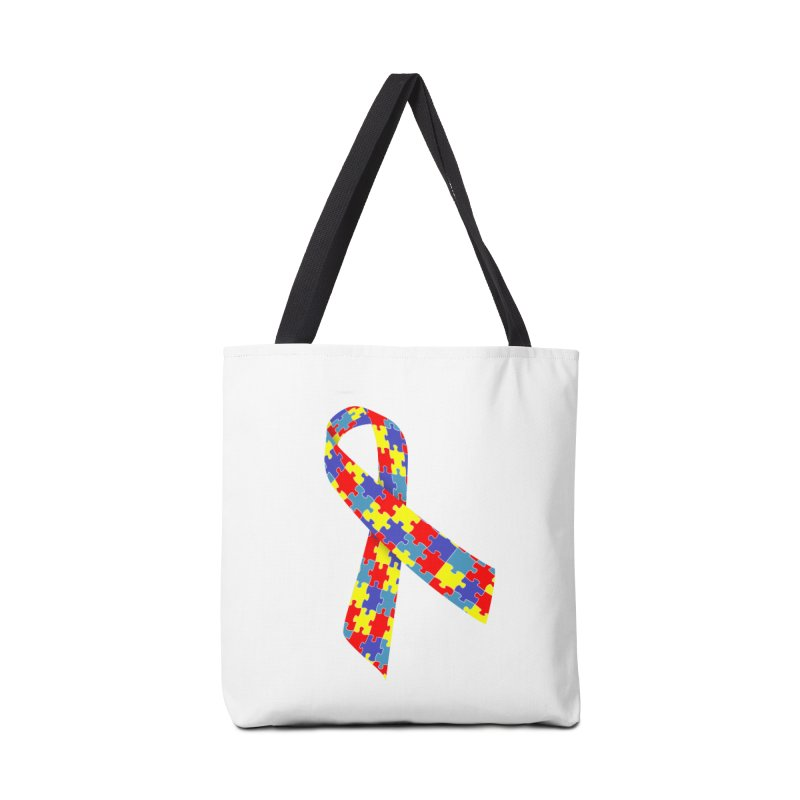 Ribbon Accessories Bag by Coachella Valley Autism Society of America