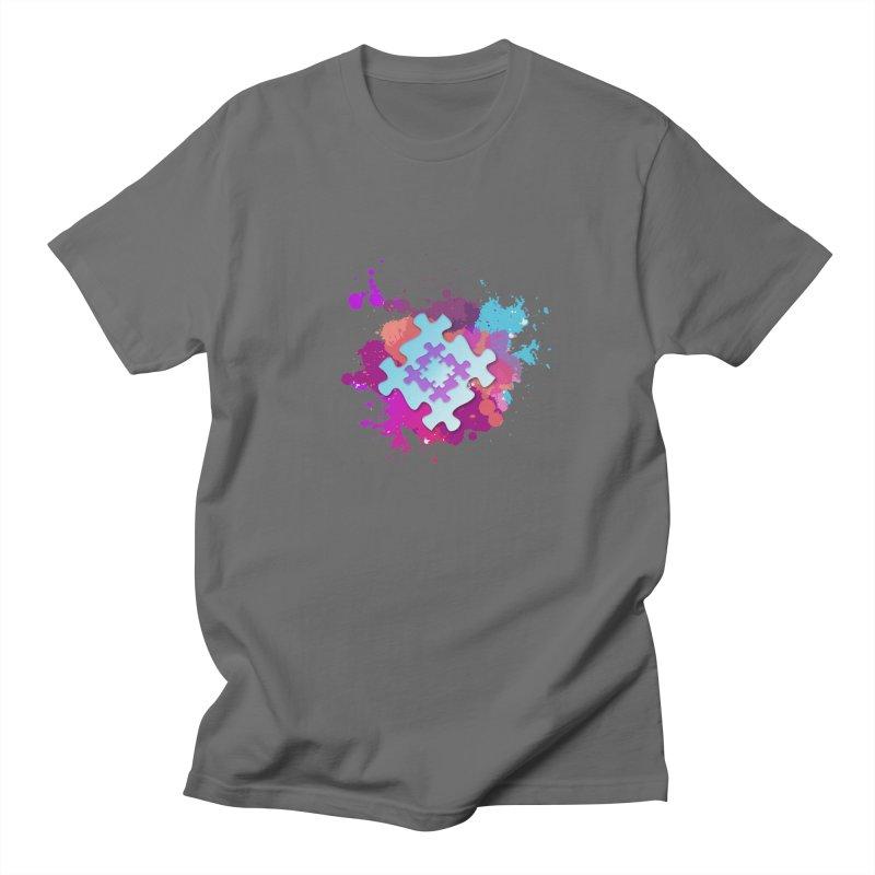 Splash Men's T-Shirt by Coachella Valley Autism Society of America