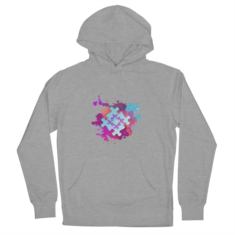 Splash Men's French Terry Pullover Hoody by Coachella Valley Autism Society of America