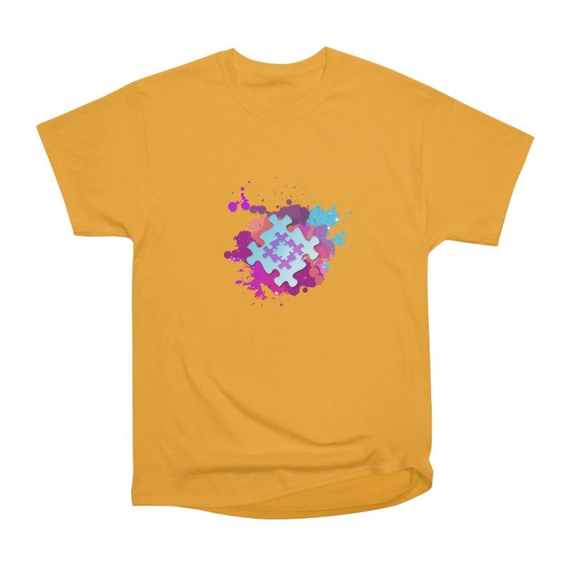 Splash Men's Heavyweight T-Shirt by Coachella Valley Autism Society of America