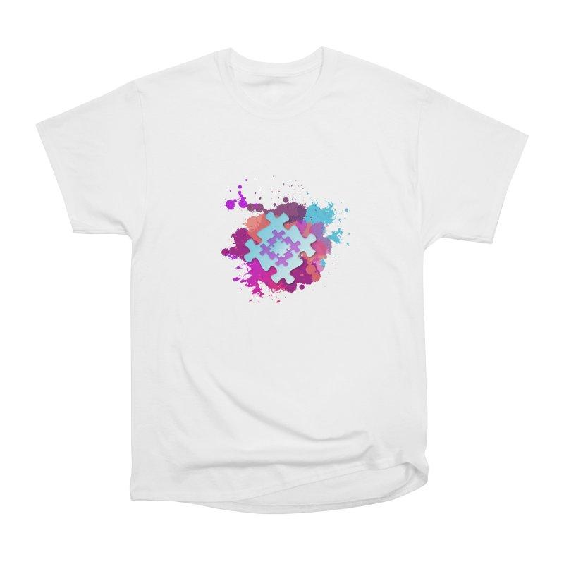 Splash Women's Heavyweight Unisex T-Shirt by Coachella Valley Autism Society of America