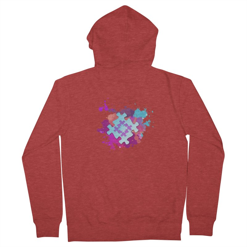 Splash Women's French Terry Zip-Up Hoody by Coachella Valley Autism Society of America