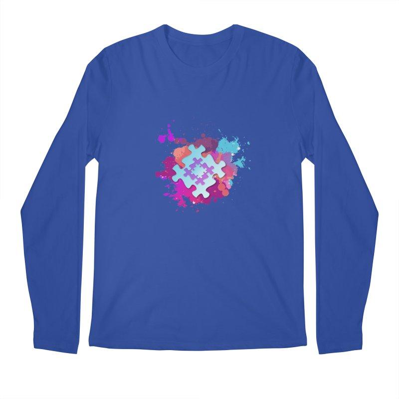 Splash Men's Regular Longsleeve T-Shirt by Coachella Valley Autism Society of America