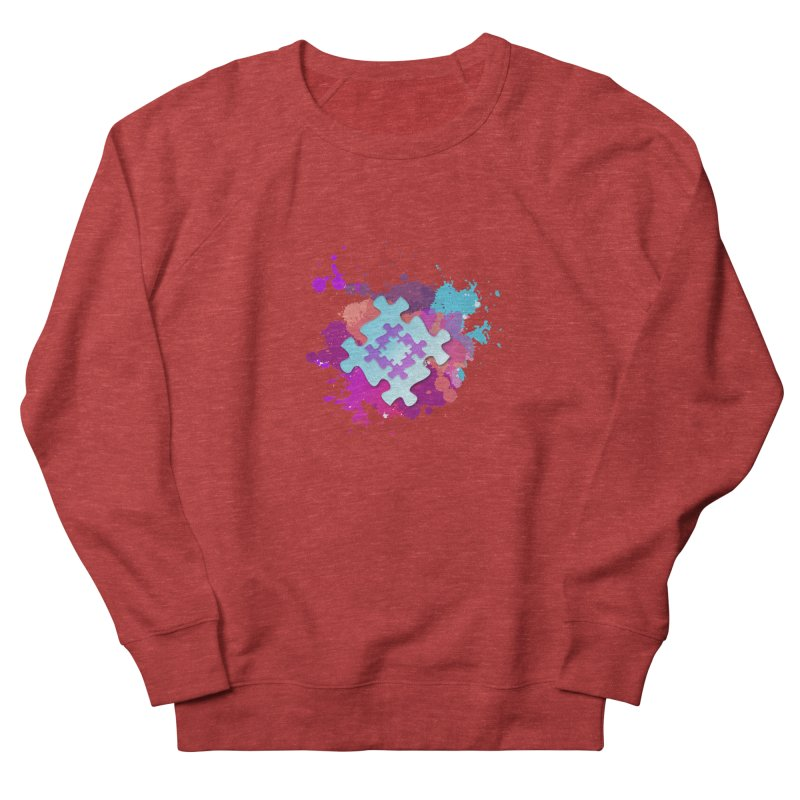 Splash Women's French Terry Sweatshirt by Coachella Valley Autism Society of America