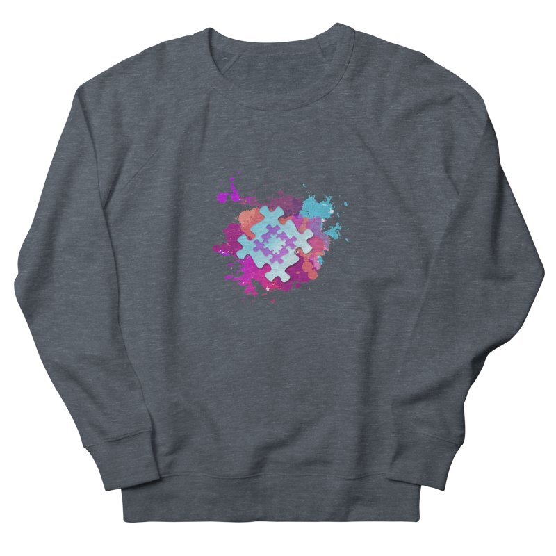 Splash Men's French Terry Sweatshirt by Coachella Valley Autism Society of America