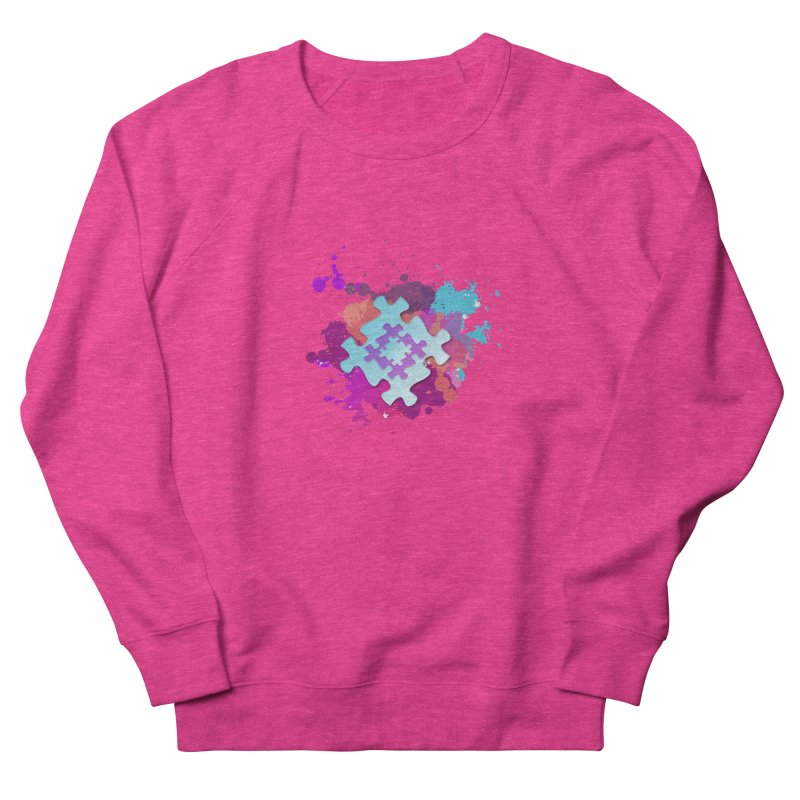 Splash Men's French Terry Sweatshirt by Coachella Valley Autism Society of America