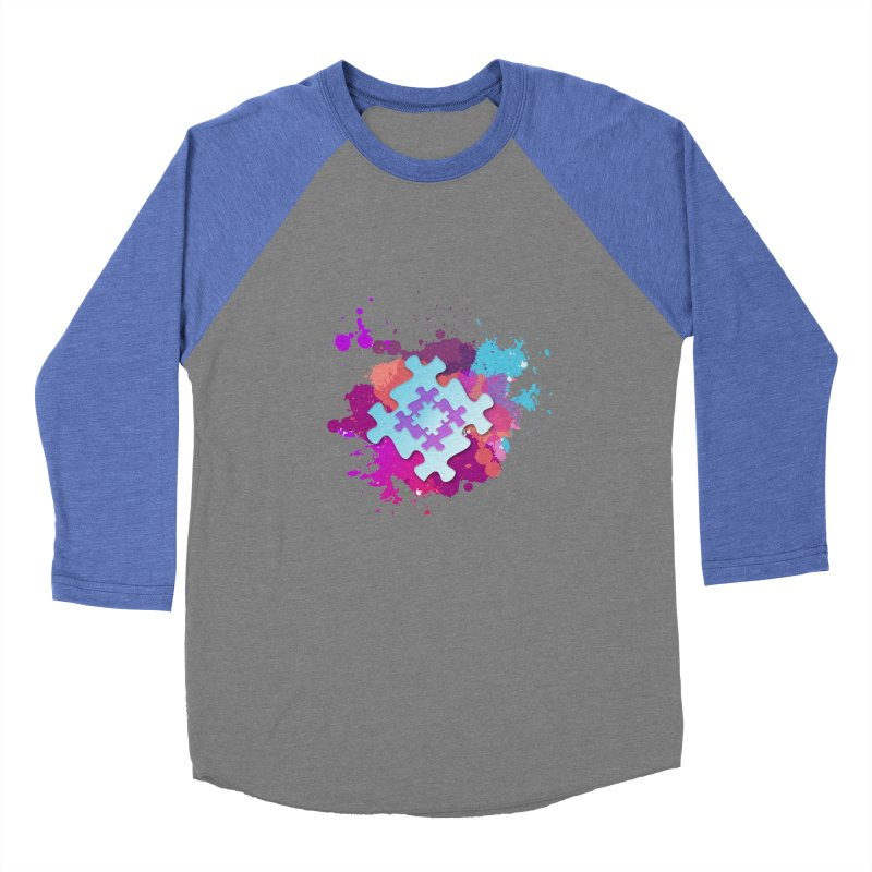 Splash Women's Baseball Triblend Longsleeve T-Shirt by Coachella Valley Autism Society of America