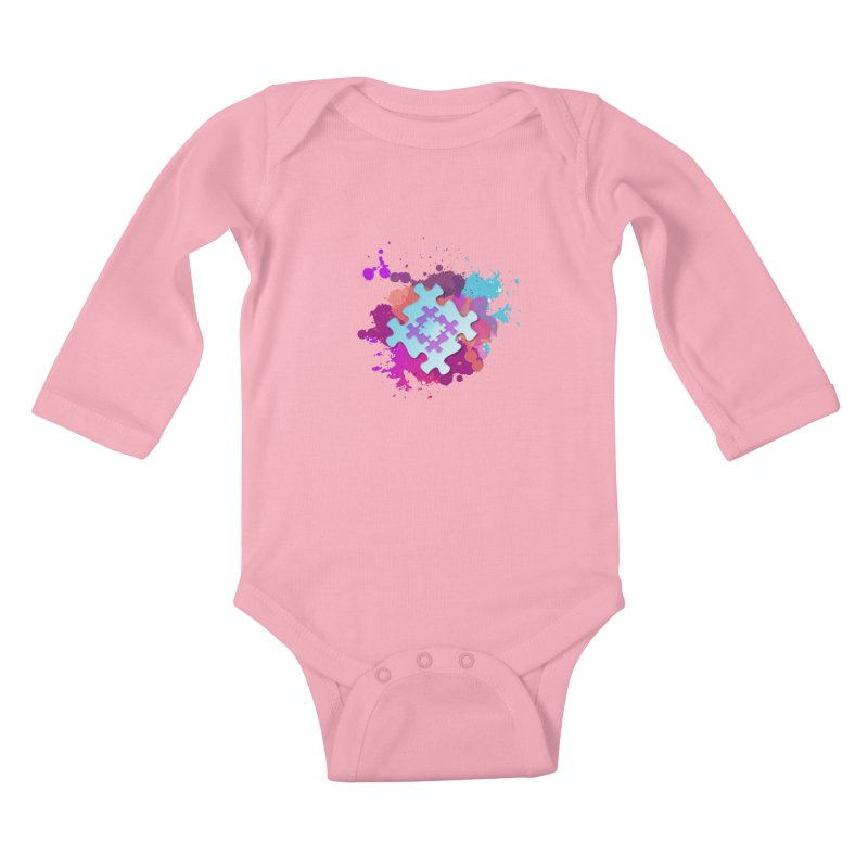 Splash Kids Baby Longsleeve Bodysuit by Coachella Valley Autism Society of America