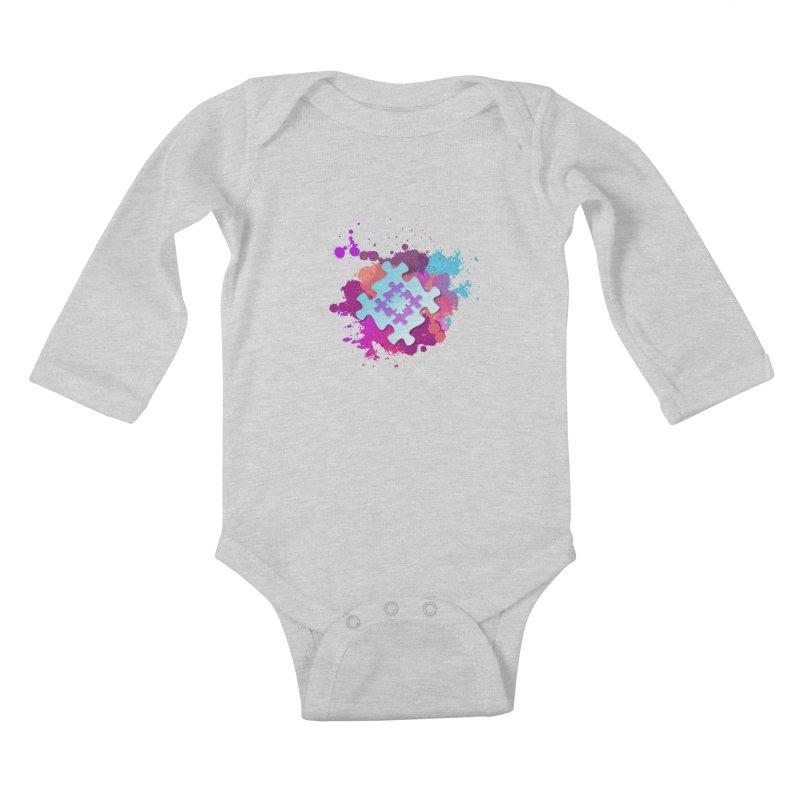 Splash Kids Baby Longsleeve Bodysuit by Coachella Valley Autism Society of America