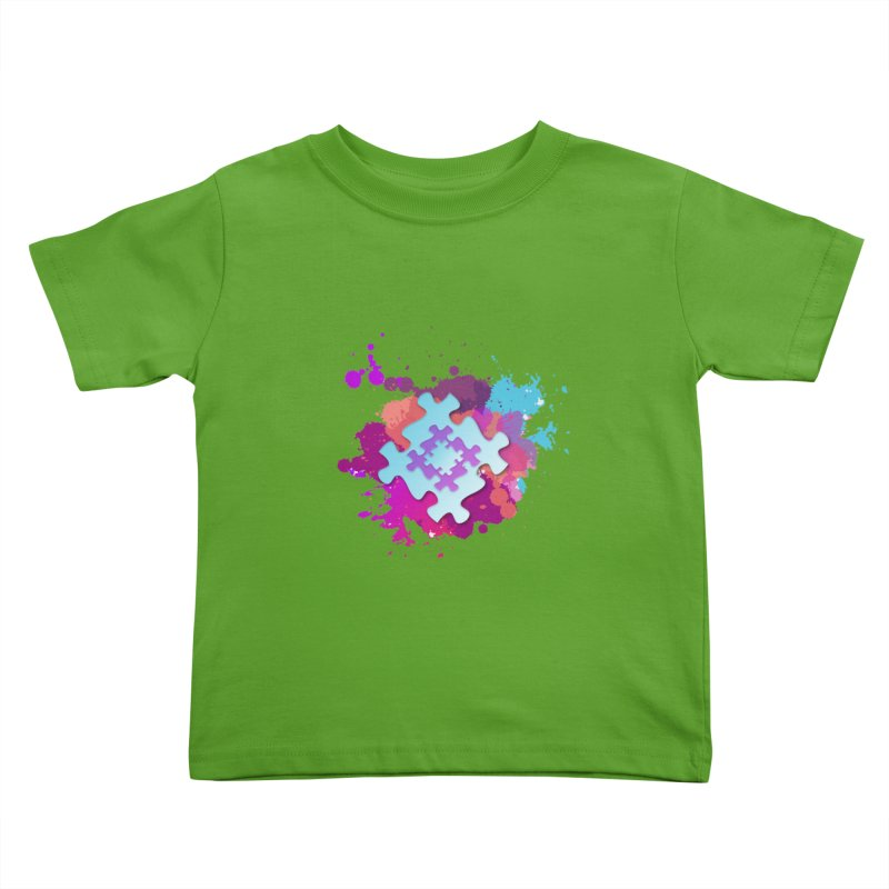 Splash Kids Toddler T-Shirt by Coachella Valley Autism Society of America
