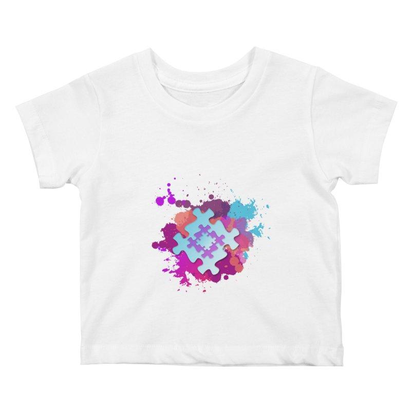 Splash Kids Baby T-Shirt by Coachella Valley Autism Society of America