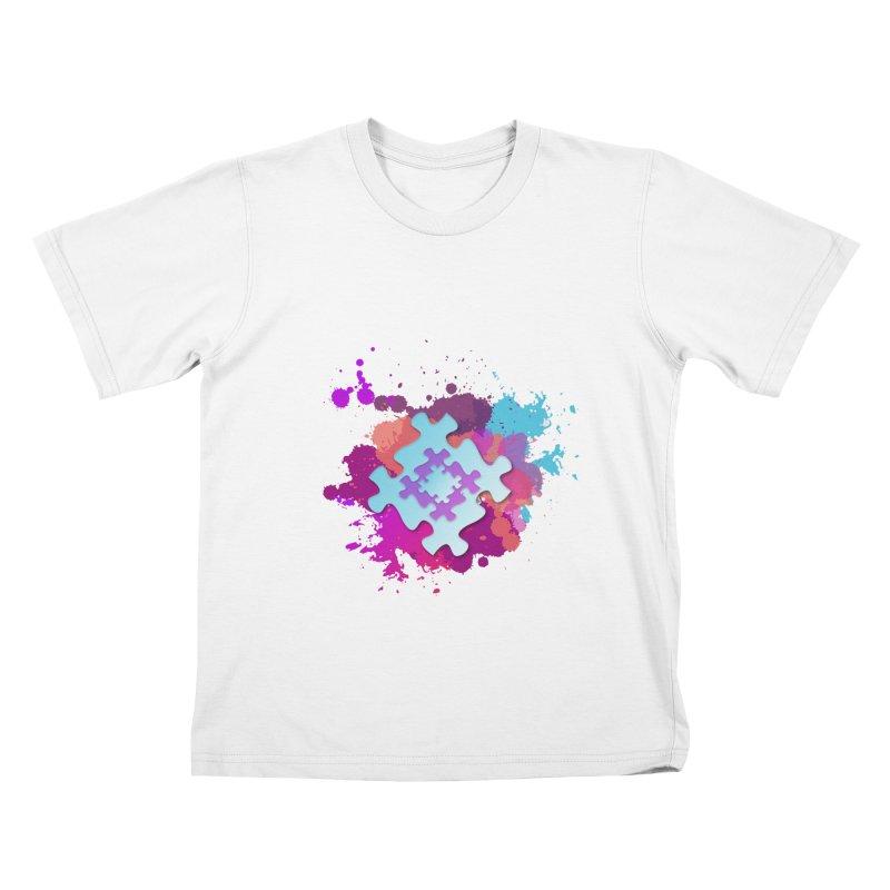 Splash Kids T-Shirt by Coachella Valley Autism Society of America