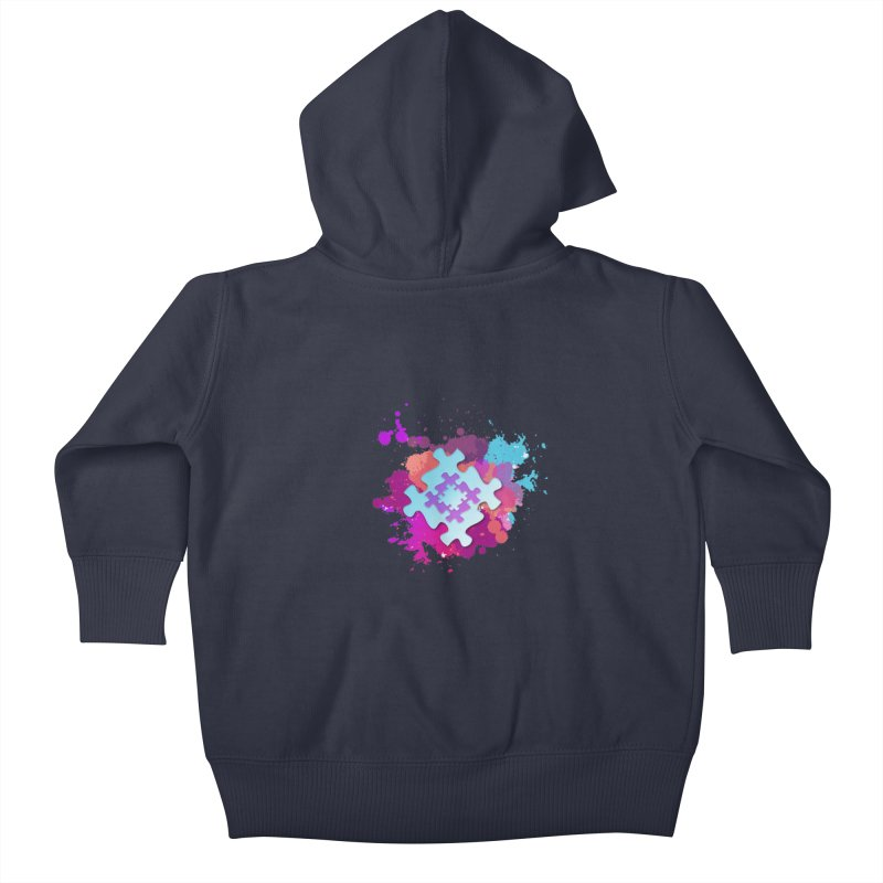 Splash Kids Baby Zip-Up Hoody by Coachella Valley Autism Society of America