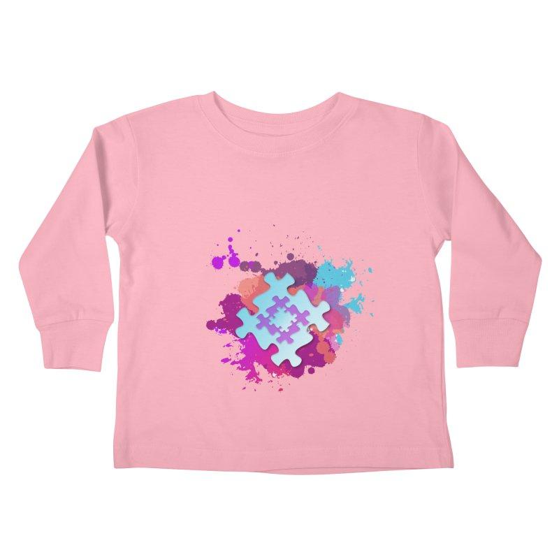 Splash Kids Toddler Longsleeve T-Shirt by Coachella Valley Autism Society of America