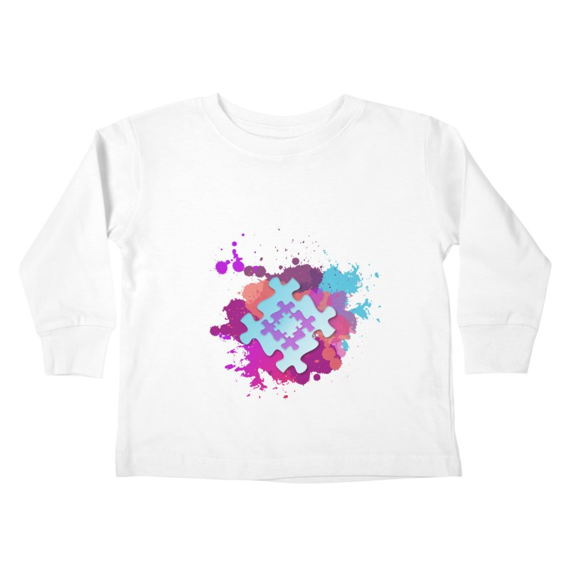 Splash Kids Toddler Longsleeve T-Shirt by Coachella Valley Autism Society of America