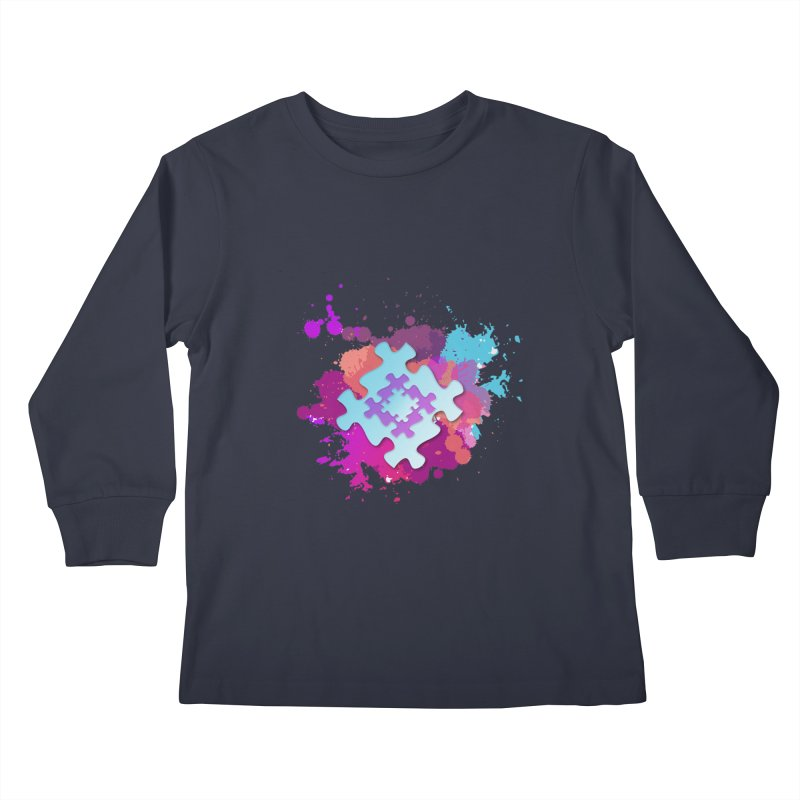 Splash Kids Longsleeve T-Shirt by Coachella Valley Autism Society of America