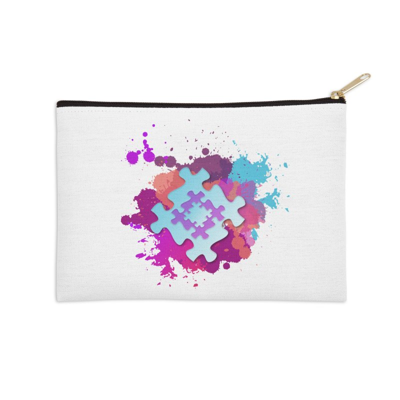 Splash Accessories Zip Pouch by Coachella Valley Autism Society of America