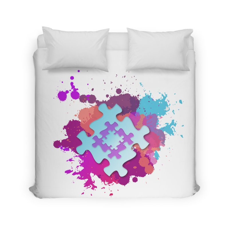 Splash Home Duvet by Coachella Valley Autism Society of America