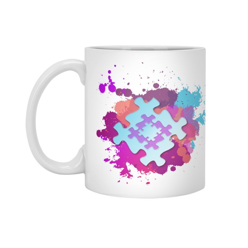 Splash Accessories Standard Mug by Coachella Valley Autism Society of America