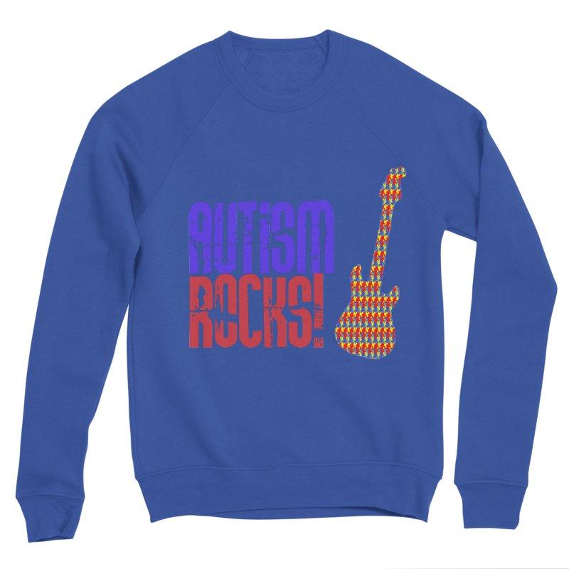 Autism Rocks Men's Sweatshirt by Coachella Valley Autism Society of America