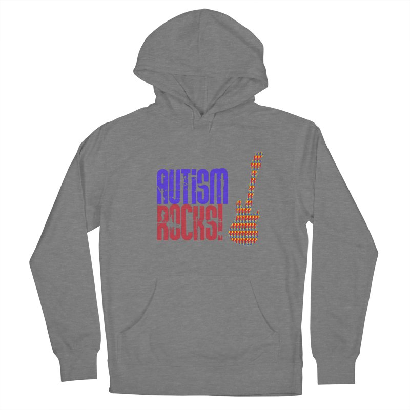 Autism Rocks Men's French Terry Pullover Hoody by Coachella Valley Autism Society of America