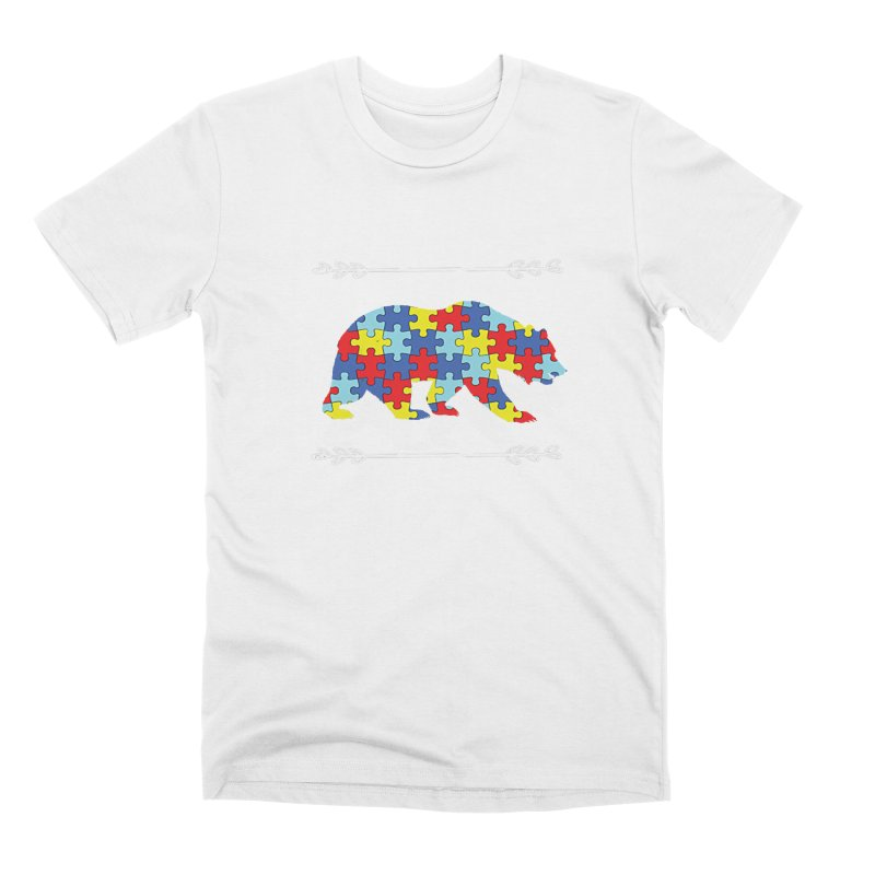 Mama Bear Men's Premium T-Shirt by Coachella Valley Autism Society of America
