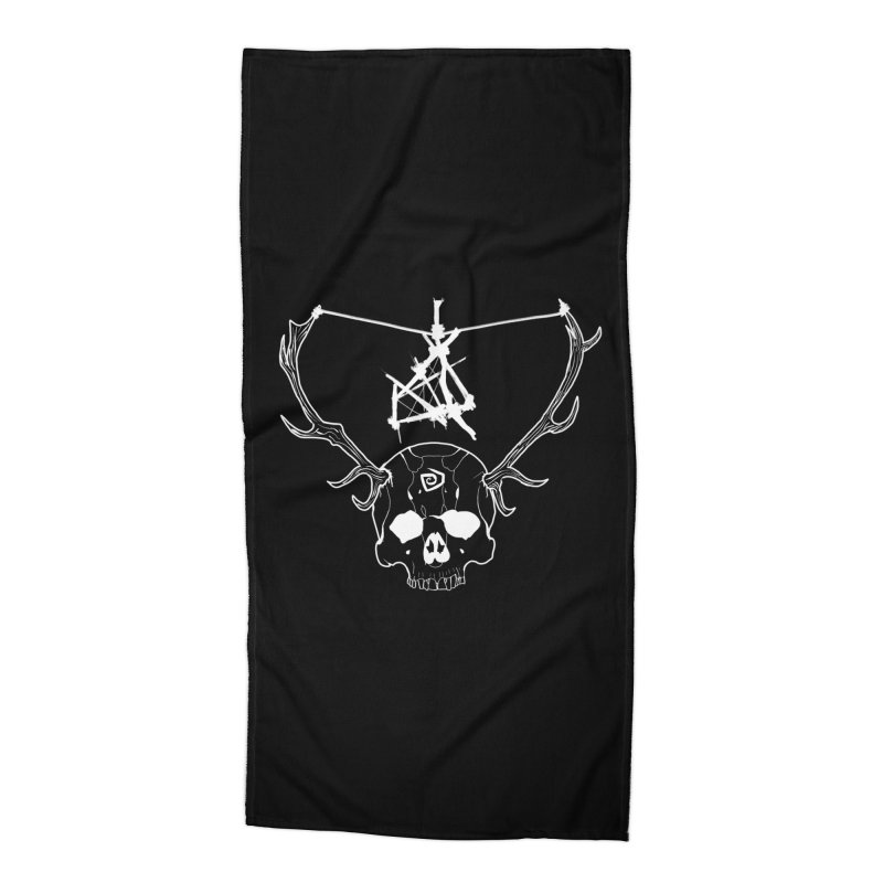 The Yellow King Accessories Beach Towel by Bazaar of the Bizzare