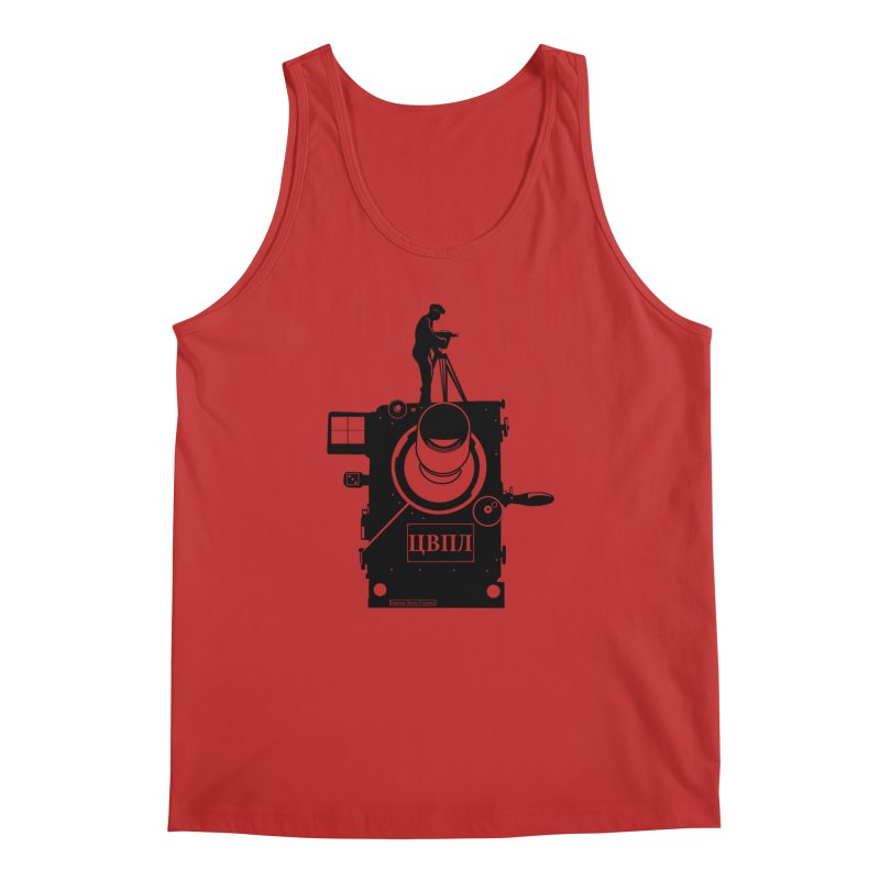 The Vertov Effect Men's Tank by Bazaar of the Bizzare