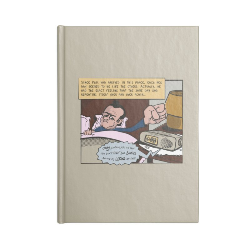 Rude awakening Accessories Blank Journal Notebook by Chemise et Cul