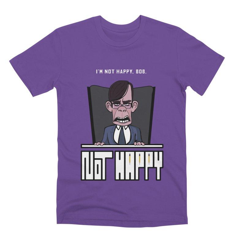 Not happy Men's Premium T-Shirt by Chemise et Cul