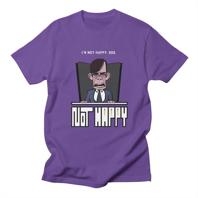 Not happy Men's T-Shirt by Chemise et Cul