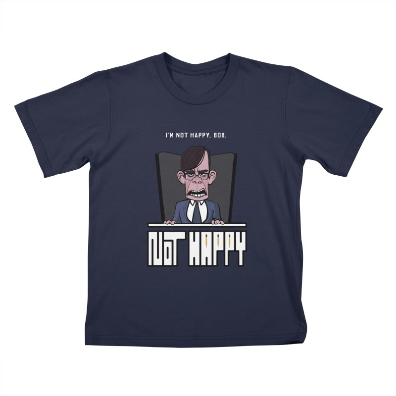 Not happy Kids T-Shirt by Chemise et Cul