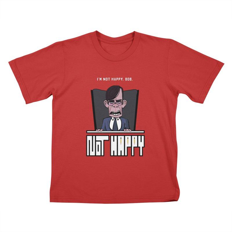 Not happy Kids T-Shirt by Chemise et Cul