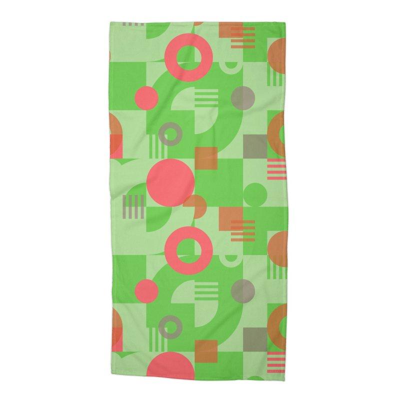 Bauhaus celebration Accessories Beach Towel by Chemise et Cul