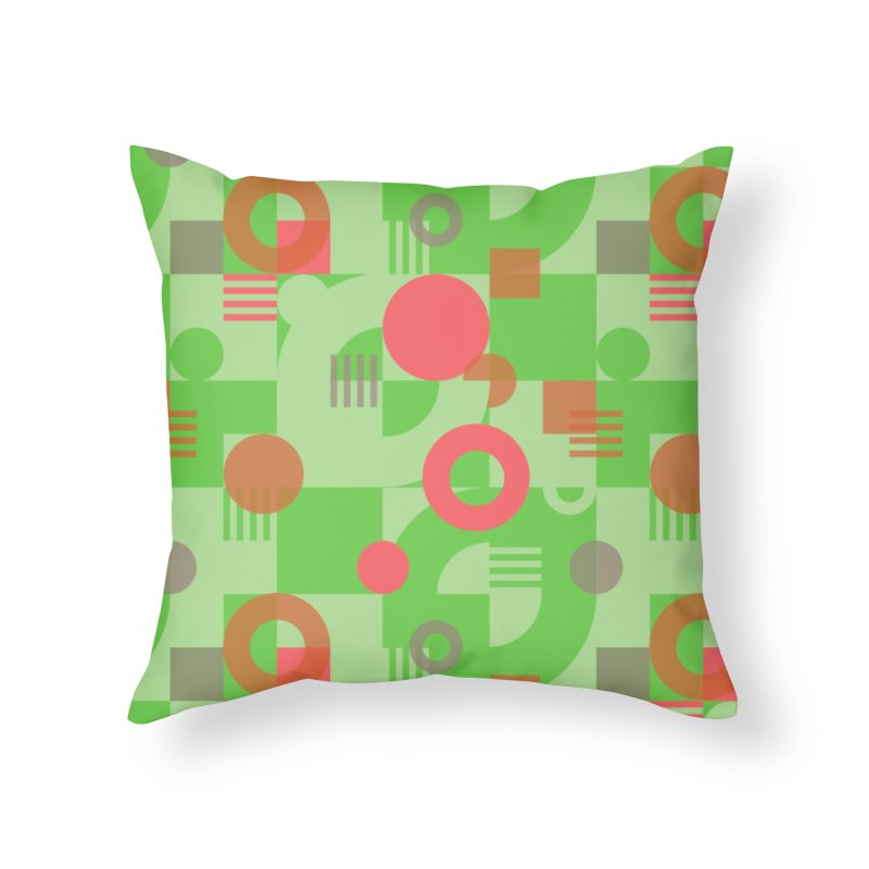 Bauhaus celebration Home Throw Pillow by Chemise et Cul