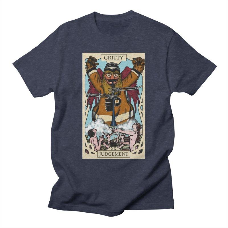 Gritty Tarot Men's T-Shirt by cyberbear's Artist Shop
