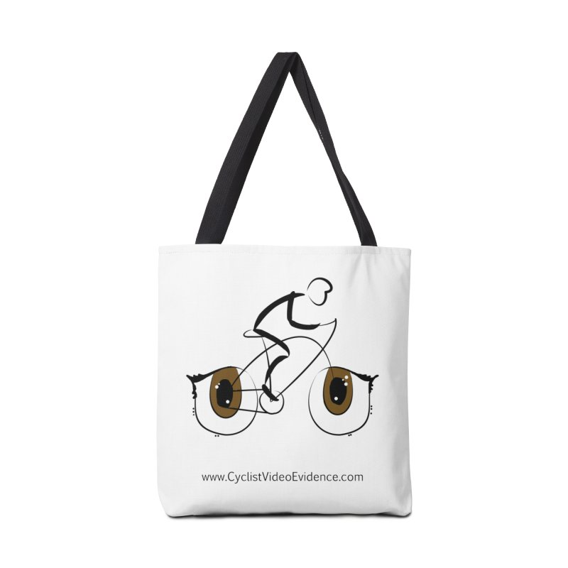 Cyclist Video Evidence Accessories Bag by Cyclist Video Evidence's Artist Shop