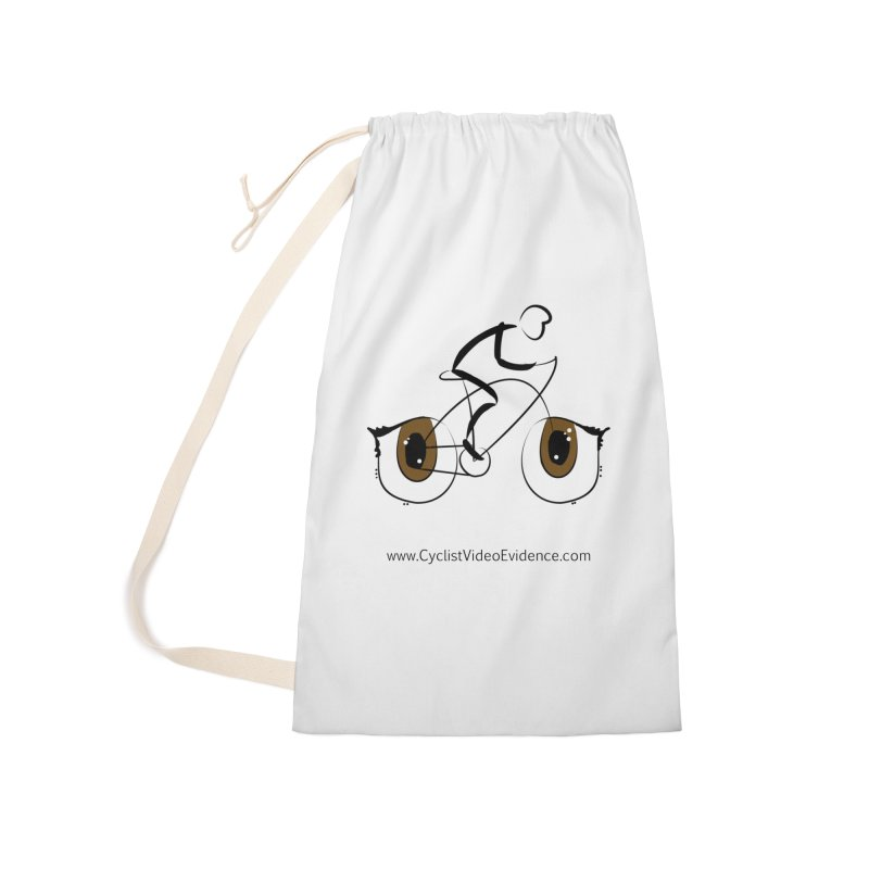 Cyclist Video Evidence Accessories Laundry Bag Bag by Cyclist Video Evidence's Artist Shop